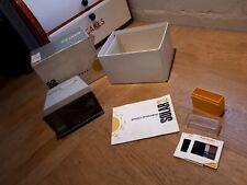 Vintage Retro PHOTAX Solar 2 Colour Slide Viewer with few slides in box