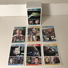 STAR TREK THE COMPLETE NEXT GENERATION Series 2 (2012) Complete Card Set TNG