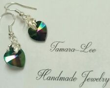 Swarovski Hook Silver Plated Fashion Earrings