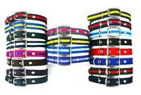 Soft & Comfy Dog Collars Strong Durable Air Webbing In Various Colours & Sizes