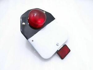 ROYAL ENFIELD CLASSIC REAR TAIL LIGHT WITH NUMBER PLATE COMPLETE SET