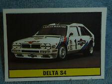 Sammelsticker Nr. 127 Bild Sticker Auto 2000 Delta S4 Panini 1985