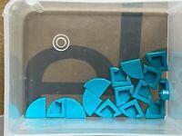 Plaque Tile Round 1x1 Quarter Lego 25269 NEUF Dark Turquoise