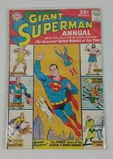 Superman Giant Annual #6 Dc Comics 1963 Vg+