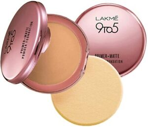 Indian Lakme-9 to 5 Primer with Matte Powder Foundation 9g
