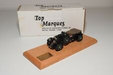 D TOP MARQUES BENTLEY 4.5 LITRE SUPERCHARGED 1929 MINT BOXED RARE 188/200