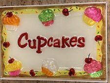 Cupcake Cupboard Serving Platter Royal Caribbean Cruise Rccl Collectible Rare