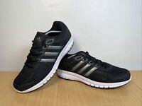 Adidas Duramo Performance Light Mens Black Grey White Trainers UK 11.5