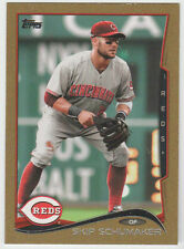 SKIP SCHUMAKER Reds 2014 Topps Mini GOLD #428 SP Online Only #63/63 SWEET 1/1