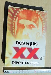 Dos Equis XX Large Playing Cards, 7 x 5 inch. Alcohol Drink Cerveza Beer.