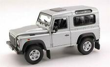 LAND ROVER DEFENDER 90 1984 SILVER 1:24 Welly WE2092