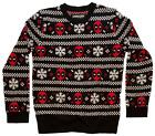 Marvel Comics Deadpool Men's Sweater Ugly Christmas New