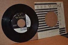 ROSCOE ROBINSON: JUST A LITTLE BIT; WAND 1161 MINT- NORTHERN SOUL PROMO 45 RPM