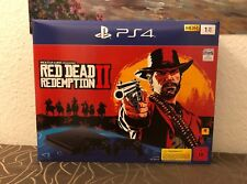 Sony PlayStation 4 Schwarz 1TB inkl. Red Dead Redemption 2 ( CUH-2216B ) NEU OVP