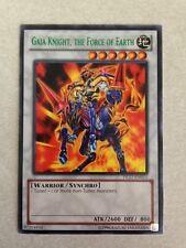 YuGiOh Gaia Knight, the Force of Earth DL17-EN011 (GREEN) Duelist League Card