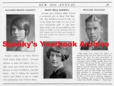 1927-28 Chester PA High School Yearbook with Photos~History~Foottball~Baseball++