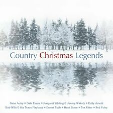 Country Christmas Legends  (CD)