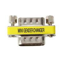 15-Pin HD15 VGA/ SVGA M-M Mini Gender Changer I1D2 T7D4