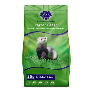 Alpha Ferret Feast Ferret Food - 10kg