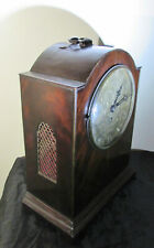 Antique English fusee bracket clock