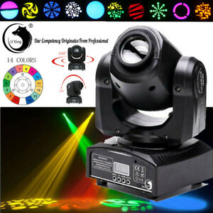 80W DMX512 LED Spotlight GOBO RGBW DJ Lichteffekte Moving Head Bühnenbeleuchtung