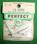 PERFECT 1/2A KEEPERS, MODEL AIRPLANES CONTROL RODS, PR, #248, NEW IN PACKAGE