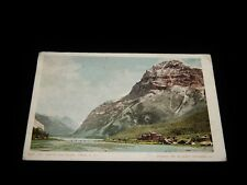 Vintage Postcard,FIELD, BC, CANADA,Mount Steven & The Hotel, To Chicago, IL,1902