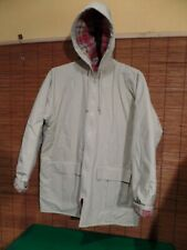 Misty Harbor Rain Coat Jacket  PVC Plaid Flannel Lined Hooded Slicker Men's  L