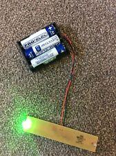 Dummy House Alarm Box Flashing LEDs - House Alarm Box Green Flashing LEDs Module