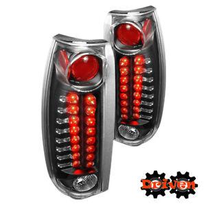 88-98 Chevy Silverado 94-99 Suburban /Tahoe 99-00 Escalade LED Taillights Black3