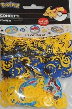 Pokemon Pikachu Birthday Confetti Bag Fillers Decorations Party Supplies Favors