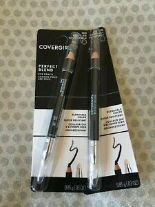 Ensemble De 2, COVERGIRL Parfait Mélange Yeux Crayon, 100 Base Noir