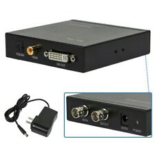 SD HD 3G SDI to DVI-D Converter Adapter Digital Coax Optical TOSLink & RCA Audio