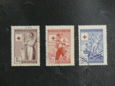 TIMBRES DE FINLANDE : 1946 YVERT N° 306 307 308 Oblitéré - TBE