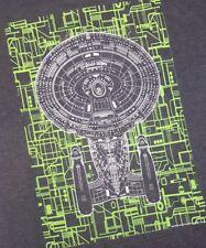 Loot Crate STAR TREK Enterprise SHIRT Borg Assimilation Unisex M Mission NEW