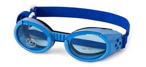 Dog Puppy Sunglasses UV - Doggles ILS - Dog Puppy Eye Protection - Blue Large XL