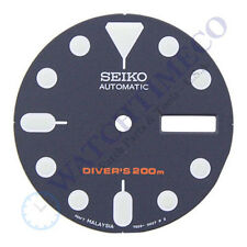 Seiko Dark Blue Dial for SKX007 SKX009 SKX011 SKX175 7S26-0020