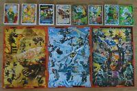 Lego Ninjago Serie 5 Trading Card Game aus allen 252 Sammelkarten aussuchen