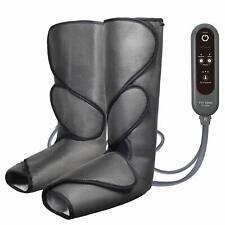 Leg Air Massager Calf Circulation Compression Machine Pump Restless Sleeves Wrap
