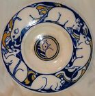 RARE ANTIQUE FOLEY FAIENCE ENGLISH ARTS & CRAFTS RATS PLATE or BOWL