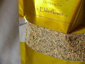 Elderflower Herbal Natural Premium Loose Leaf Tea 40g FRESH SUMMER HARVEST