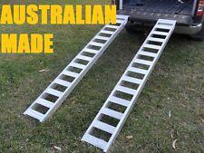 1 Tonne Capacity Aluminium Loading Ramps 2.4 metres x 280mm wide