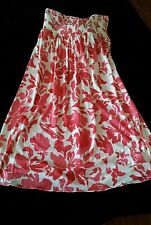 Choose Juicy WheatBerry Strapless Print Dress Sz small*Designer*Couture*New*Tags