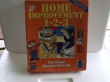 Home Depot  Home Improvement  1-2-3 CD-Rom in Windows & Macintosh Version