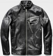 G Star Revend Leather Jacket Size M