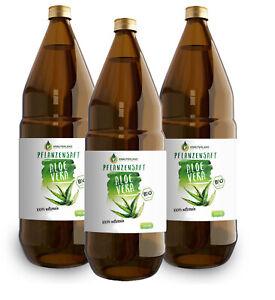 Kräuterland -  Bio Aloe Vera Direktsaft 3 Liter - aus Mexiko