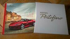 HB Brochure FERRARI PORTOFINO : catalogue + étui cartonnés
