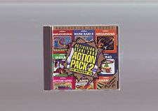ACTIVISION'S ATARI 2600 ACTION PACK 2 - PC GAME - 15 GAMES WITH MANUAL - DW