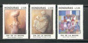 HONDURAS 1992, ART: PAINTINGS: MOTHER'S DAY, Scott 367-369, MNH