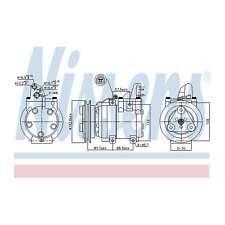 Fits Ford Ranger 3.0 TDCi Genuine OE Quality Nissens A/C Air Con Compressor